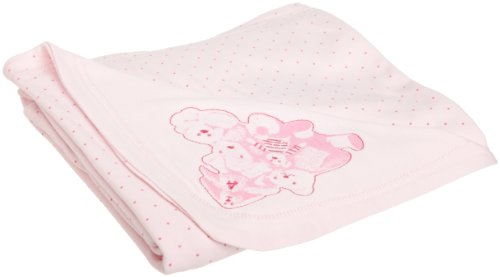 ABSORBA Baby-Girls Newborn Bear Friends Blanket