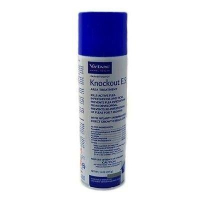Dog Supplies Virbac Knockout E.S. Area Treatment Spray (16 Ounce)