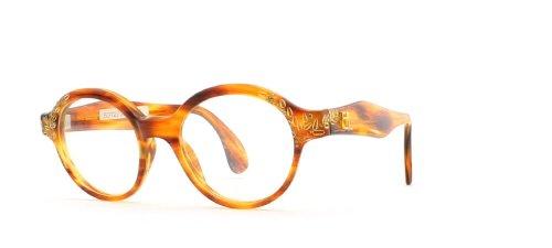 Emmanuelle Khanh - Monture de lunettes - Femme Marron Marron