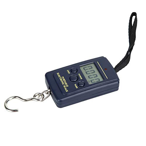 Fishing Scale, Luggage Scale, Fish Scale, Portable Scale 88lb/ 40kg Pocket Size Multi-functionals Pro Scale with Tare, Back-lit LCD Display for Fishing, Digital Kitchen Scales, Fish Weighing Scale