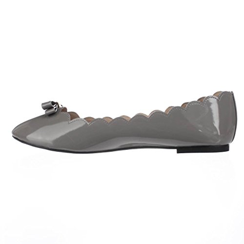 Flats Shoes OLIVIA Ballet Wanted Closed Grey Toe Womens nBYUnwxqA