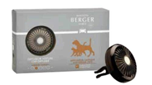 MAISON BERGER Anti-odor Car Diffuser Set to Combat Animal Odors by Maison Berger