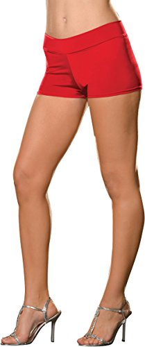 Roxie Hot Shorts Adult Underwear Red - Plus Size 1X/2X