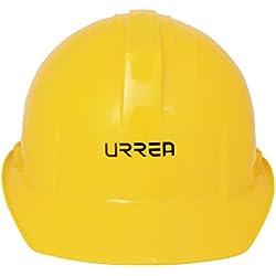 Urrea Herramientas USH01Y Casco de Seguridad con Ajuste de Matraca, color Amarillo