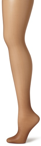Hanes Women's Non Control Top Sandalfoot Silk Reflections Panty Hose, Gentle Brown, A/B