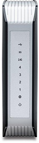 TRENDnet AC1900 Dual Band Wireless AC Gigabit Router, 2.4GHz 600Mbps+5Ghz 1300Mbps, One-Touch Network connection, 1 USB 2.0 Port, 1 USB 3.0 Port, DD-WRT Compatible, IPv6, Guest Network, Parental controls, TEW-818 DRU