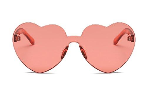 Sol Color Jelly Corazón en los Forma Siameses Estados Europa de Sol de Trend Unidos Gafas Gafas y Mujeres Corazón de YANJING 9 6 Gafas Color Love zcHBgxqOxw