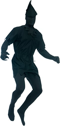 Adults Men's Lost Boy Pan Black Shadow Man Costume X-Small XS 34-36 - The Shadow Costume Hat