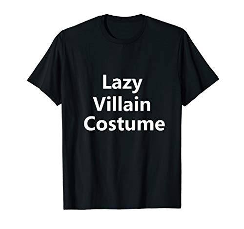 Villain Costume Ideas For Men (Funny Lazy Evil Villain Halloween Costume Last Minute Idea)