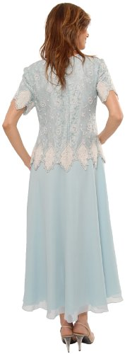 The Evening Store mother of the bride blue All Sizes tea length