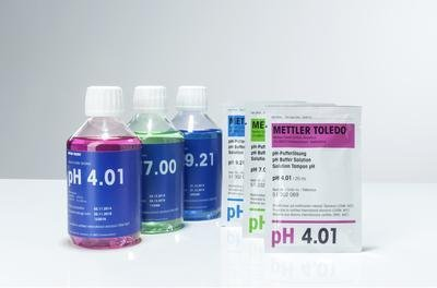 Mettler-Toledo 51302080 Rainbow II Buffer (3 Packs of 10 x 20 ml Sachets)