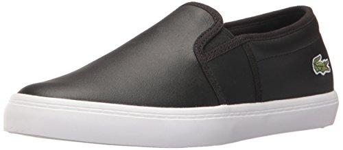 Lacoste Women's Gazon BL 1 SPW, Black, 5.5 M US - Lacoste Slip On Sneakers