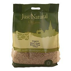 Just Natural Organic Organic Short Grain Brown Rice 1000g by Just Natural Organic