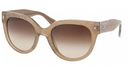 Prada PR17OS Sunglasses-JAW/6S1 Lace Sand (Brown Gradient (6s1 Prada Sunglasses)