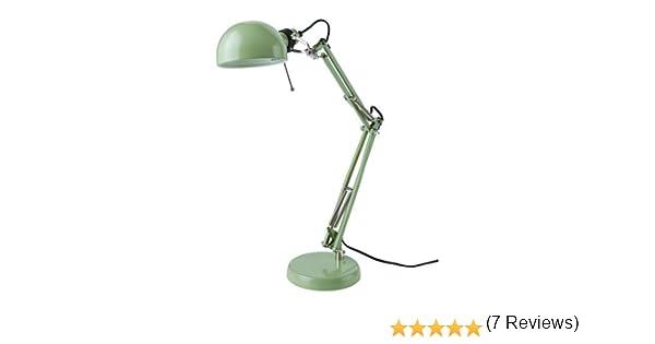 Ikea Forsa – Lámpara de trabajo en Verde; A +: Amazon.es: Iluminación