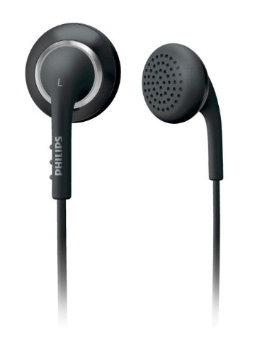 (Philips Colour Tunes in-Ear Headphones - Black (SHE2641BN/27))