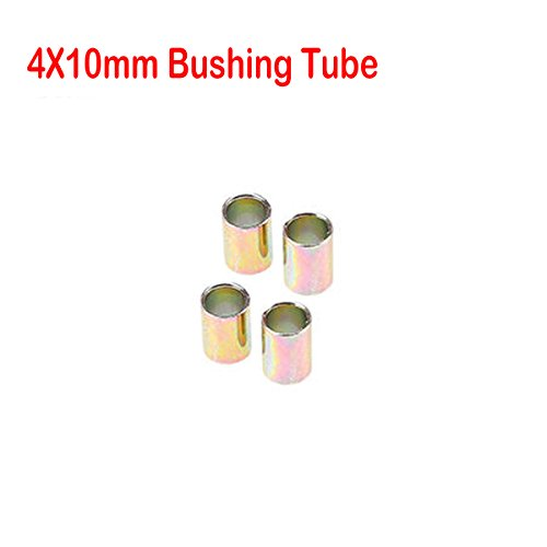 Motorcycle Shock Absorber Rear Suspension 10 mm Tubes Bushing by FOXSTAR,  4pcs