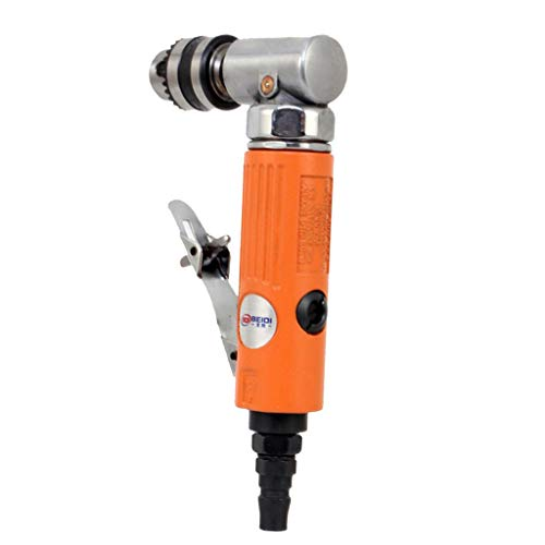 Flameer 1/4 Inch Air-Powered Angle Drill for Milling Cutter Processing, 7004L&7005L - 7005L by Flameer (Image #5)