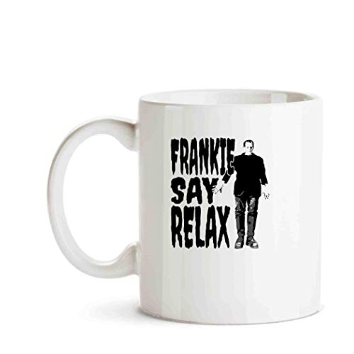 Frankie Say Relax Vintage 80s Music Funny Halloween]()