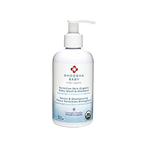 Shoosha Sensitive Skin Organic Baby Wash & Shampoo Lavender Vanilla