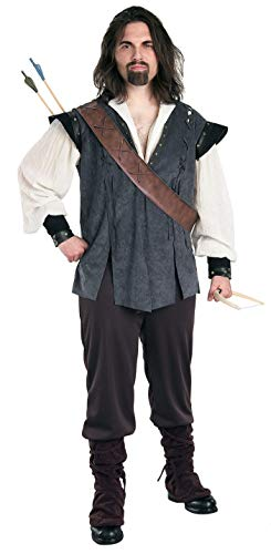 Rubie's Men's Deluxe Robin Hood Costume, Multicolor, One Size -
