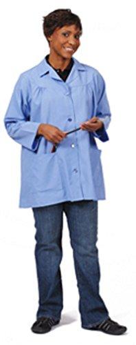 Fame Fabrics 82719 K75 Artist Smock, Ceil Blue, LG
