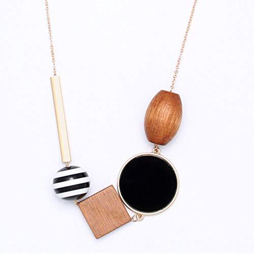 - UltraSunday Geometric Drop Dangle Pendant Long Chain Sweater Necklace Women Jewelry