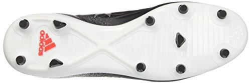 adidas X 17.2 Fg, Chaussures de Football Femme Noir (Core Black/platin Metallic/core Red)