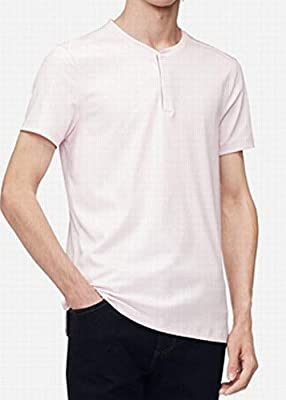 Calvin Klein Men's Short Sleeve Henley Shirt
