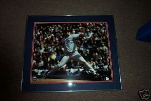 Red Sox Curt Schilling Autographed Framed 16x20 Photo Steiner (Curt Schilling Framed Photo)