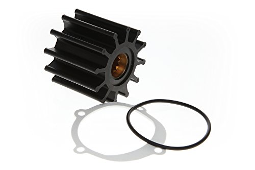 Replacement Kits Brand Water Pump Impeller Kit Replaces 09-812B-1 Johnson F6B-9 102480501 ()