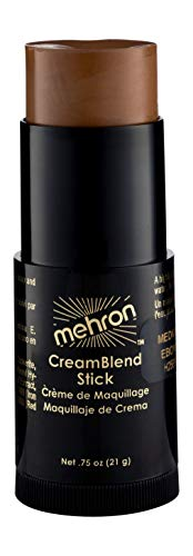 Mehron Makeup CreamBlend Stick (.75 oz) (MEDIUM EBONY)