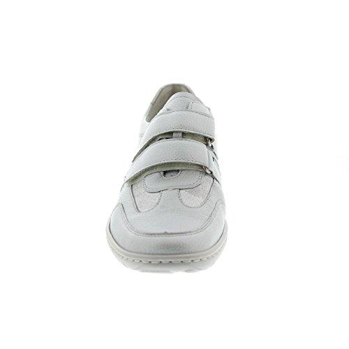 Lugina Bianco Silber Scarpe Donna Offwhite Stringate qwOqaF