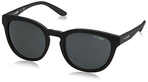 Arnette Men's Cut Back Round Sunglasses, Matte Black, 53 - Sunglasses 87 Acetate