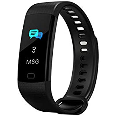 ZZXXCC Smart Wristband Pedometer Blood Pressure Heart Rate Monitor Fitness Bracelet Activity Tracker Watch Estimated Price -