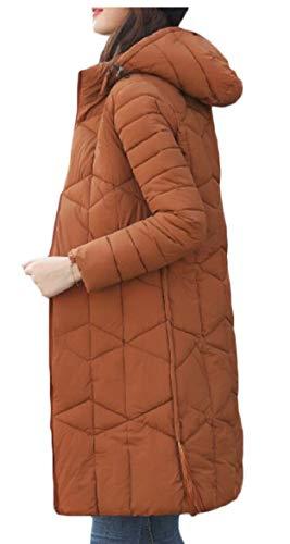 Di Addensato Di Inverno Caldo Parka Giù 1 Piumino Outwear Delle Sicurezza Donne pfqAdB