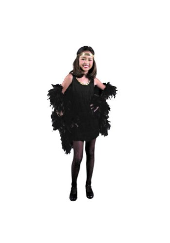 CHILD X-Small 4-6X - Fuchsia Fringed Flapper Dress (Boa, gloves, headpiece and stockings not include (Best Bonnie And Clyde Costumes)