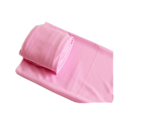 tellm 33 * 88 cm fría (verano hielo toalla Deportes toalla de toallitas niños antipirético frío, poliéster, azul, 33*88cm: Amazon.es: Hogar