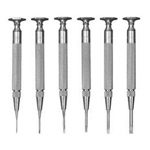 Starrett S555Z-6 Jewellers' Screw Drivers- Set of 6