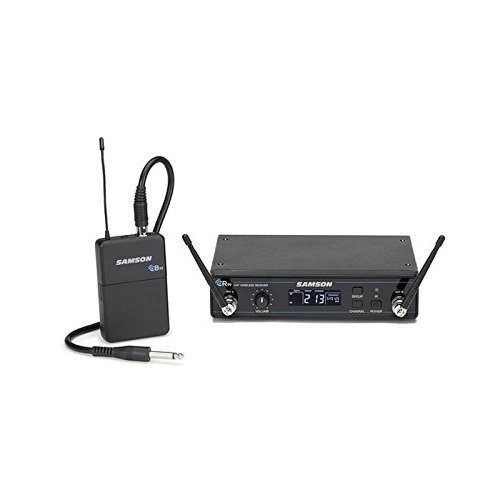 Samson SWC99BGT-K | Concert 99 Wireless Guitar System with GC32 Guitar Cable by Samson