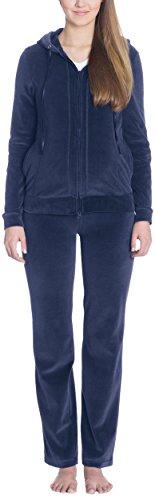 Bellybutton Loungewear-Jacke 1/1 Arm-Mama - Sudadera para mujer Azul (night blue 41400)