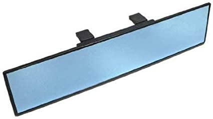 Blue Tint Blind Spot Mirror Wide Angle Rear View Car Side Mirror for BMW