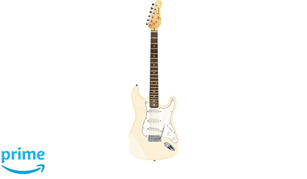 Guitarra eléctrica Jay Turser JT-300 Ivory: Amazon.es: Instrumentos musicales