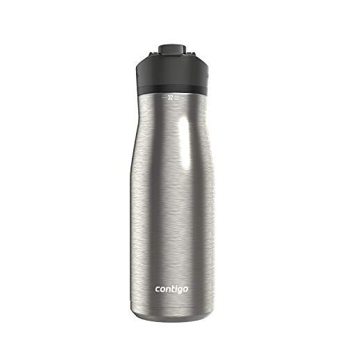 Botella de agua Contigo AUTOSEAL, 32 onzas, tapa de regaliz