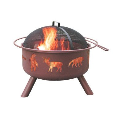 Landmann 28347 Big Sky Fire Pit, Wildlife -  - patio, fire-pits-outdoor-fireplaces, outdoor-decor - 31KFczdeE0L. SS400  -