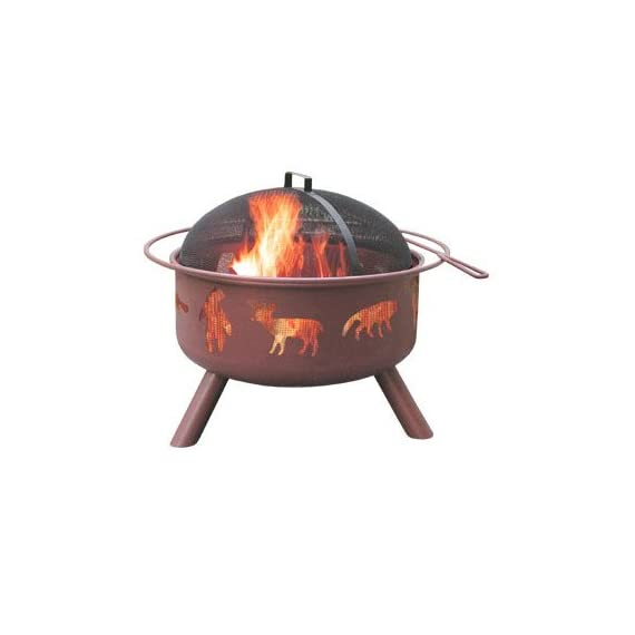 Landmann 28347 Big Sky Fire Pit, Wildlife -  - patio, outdoor-decor, fire-pits-outdoor-fireplaces - 31KFczdeE0L. SS570  -
