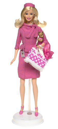 Barbie Legally Blonde 2 Red White and Blonde Barbie Doll as Elle Woods by Barbie - Elle Wood