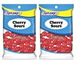 Taylors Candy 2 oz Cherry Sours Candies, 24 Count (Pack of 2)