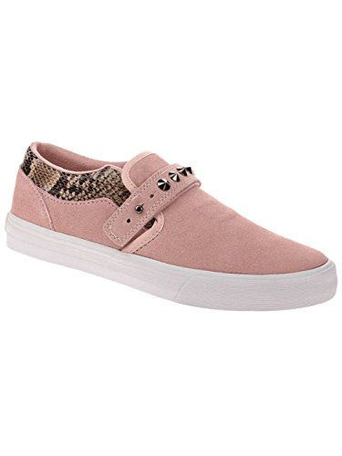 Supra Sneakers Pink White SW92501 Femmes CUBA Brown qpqgzvH4