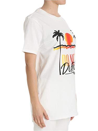 Ferragni Algodon shirt Chiara Blanco T Cft033white Mujer zwn7dxPS